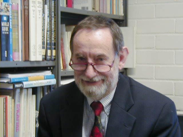 Associate Professor Ian James Bickerton